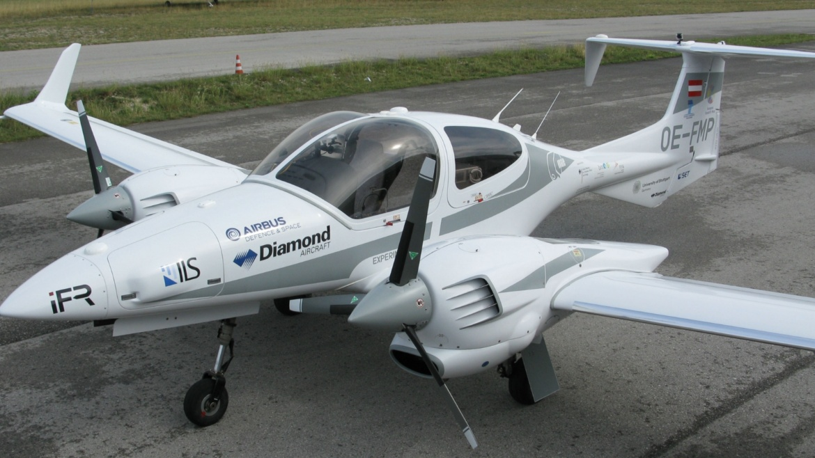 In 2015, a fully automatic flight of a DA42 including takeoff and landing was demonstrated with algorithms developed by the iFR.