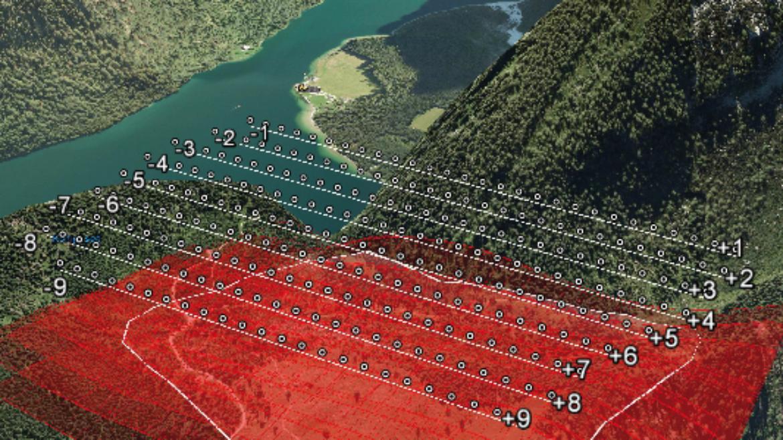 In einem gemeinsamen Projekt haben die Institue für Bildmessung (ifp) und Flugmechanik und Flugregelung (IFR) die Durchführbarkeit der Nutzung von Bildmessungsverfahren zur Ermittlung von Schneetiefen erforscht.